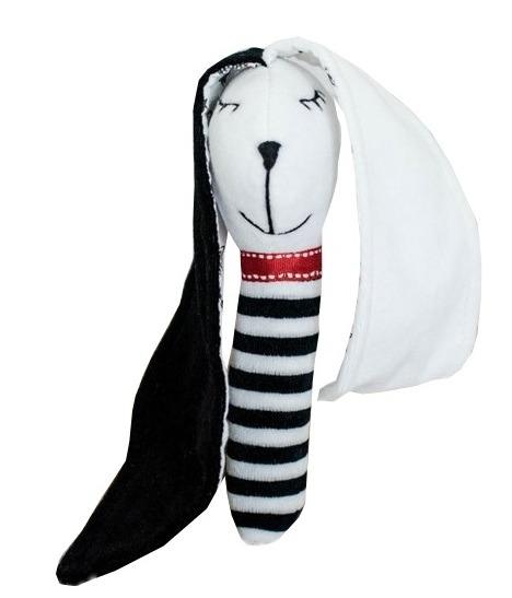 Black&White Baby Stuff, Królik Uszak, kontrastowa grzechotka