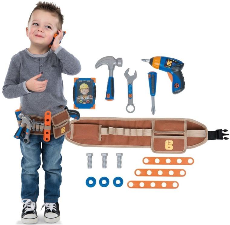 Bob Budowniczy, pas z narzędziami i wiertarką, 15 elementów