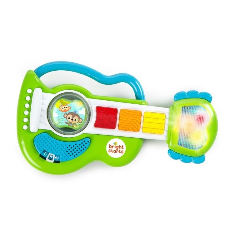 Bright Starts, Gitara Malucha, interaktywna zabawka niemowlęca