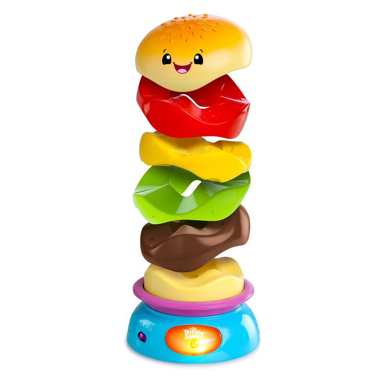 Bright Starts, Zakręcony Burger, zabawka interaktywna