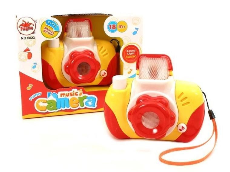 Brimarex, Aparat fotograficzny, dźwięk i światło, zabawka interaktywna