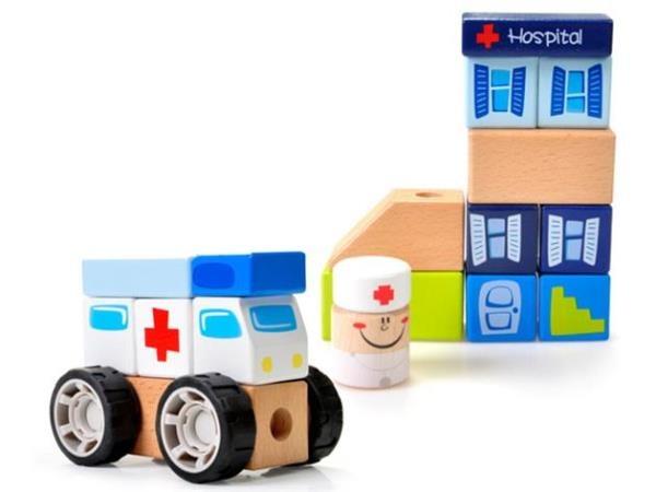 Brimarex, Szpital, drewniana układanka
