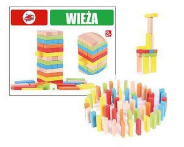 Brimarex, Wieża, drewniana gra