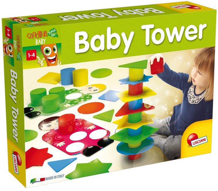 Carotina, Baby Tower, zestaw kreatywny