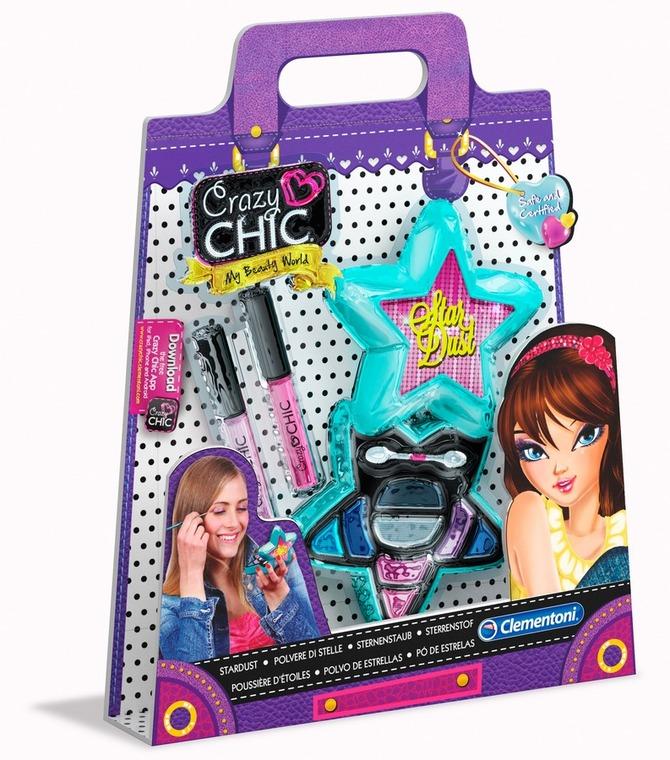 Clementoni, Crazy Chic, Gwiezdny makijaż, zestaw kreatywny