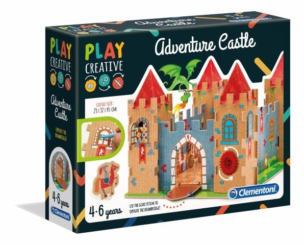 Clementoni, Zamek przygód, zabawka kreatywna