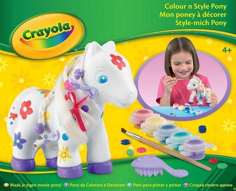 Crayola, kucyk, zestaw kreatywny