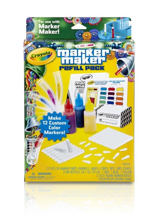 Crayola, Marker maker, uzupełnienie, zestaw kreatywny