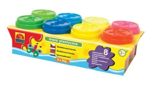 Dromader, masa plastyczna, 8 kolorów