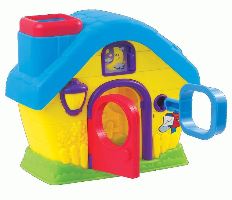 Dumel Discovery, Domek, sorter kształtów, zabawka niemowlęca