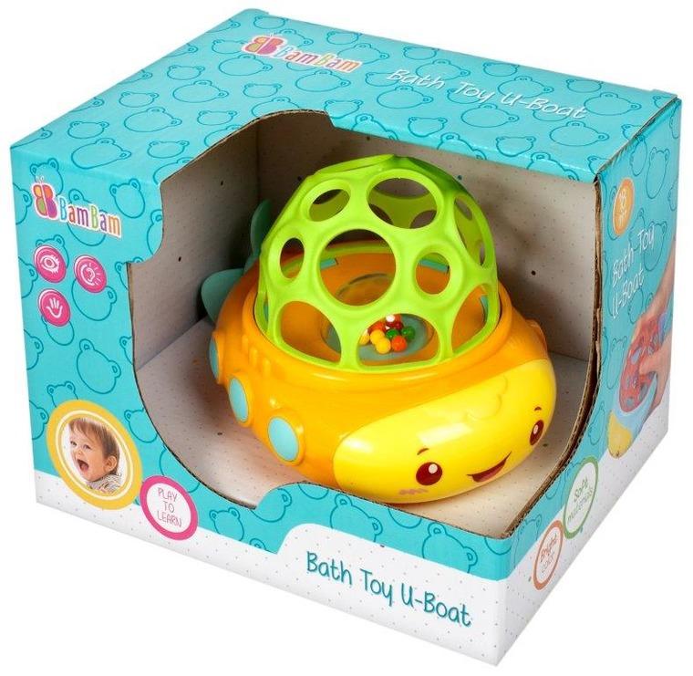 BamBam, łódka, zabawka do kąpieli