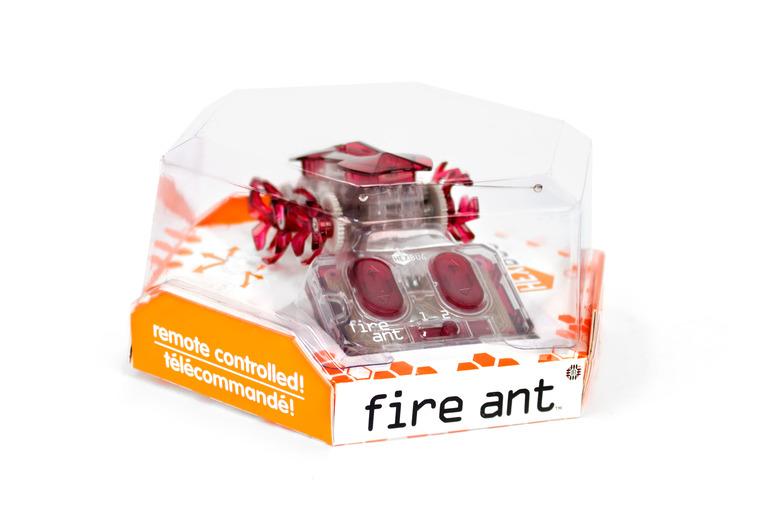 Hexbug, Mikroroboty, sterowana mrówka, czerwona
