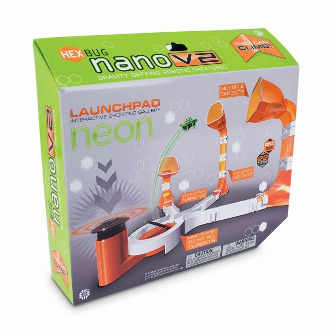 Hexbug, Nano V2 Neon, wyrzutnia, zestaw z robotem