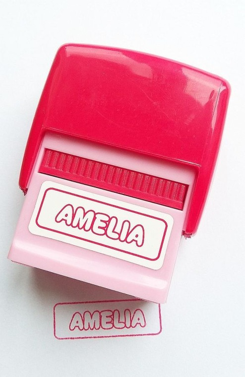 Jawi, Pieczątka imienna, Amelia