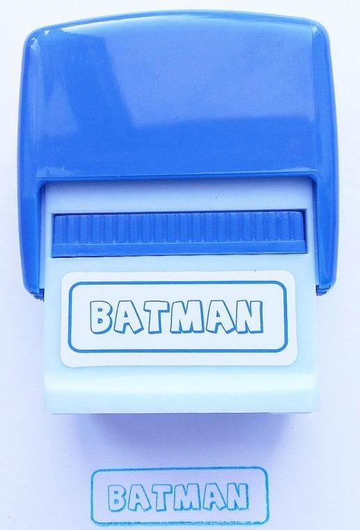 Jawi, Pieczątka imienna, Batman