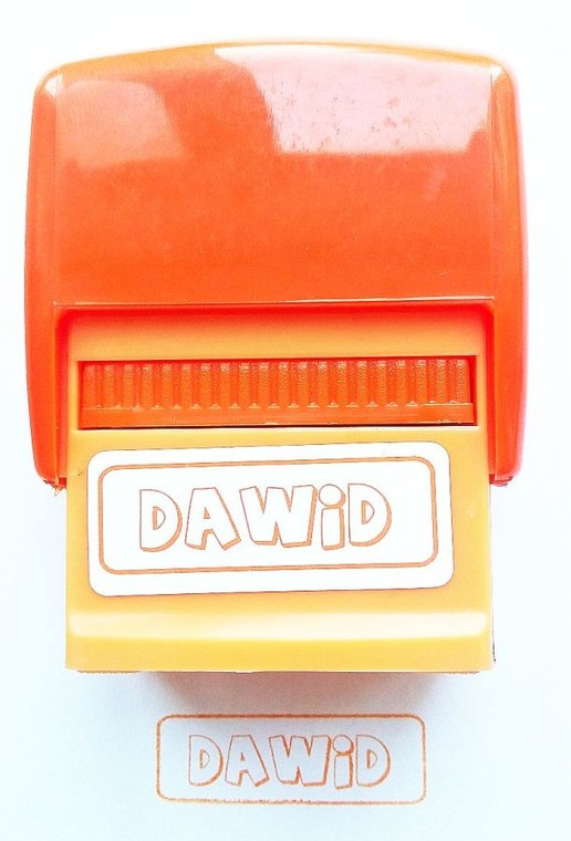 Jawi, Pieczątka imienna, Dawid
