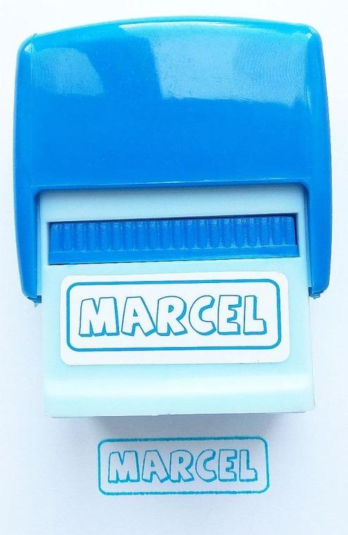 Jawi, Pieczątka imienna, Marcel