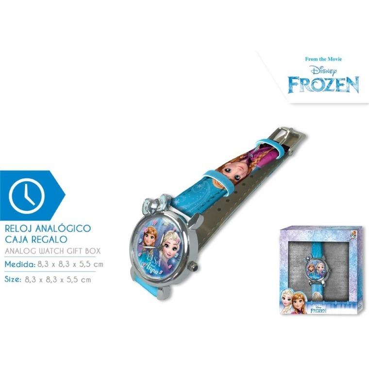 Kraina Lodu, zegarek na rękę w pudełku prezentowym, niebieski