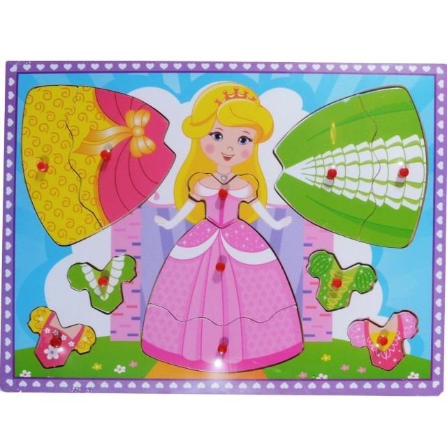 Anek Dla Dzieci, Księżniczka, układanka drewniana