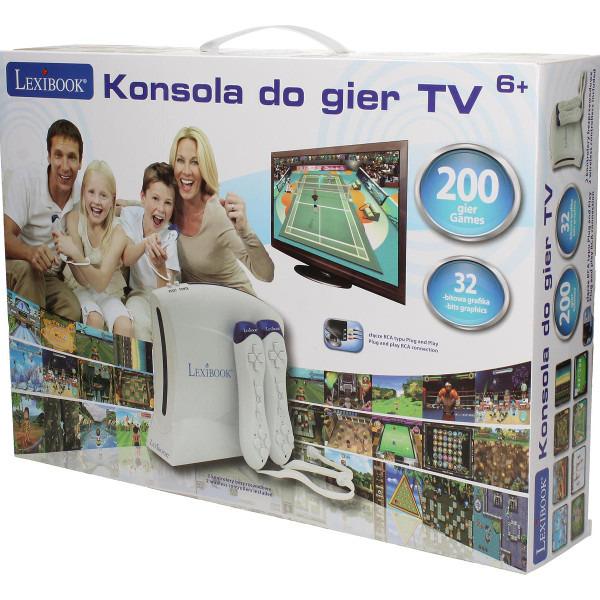 Lexibook, konsola TV, 200 gier