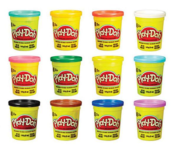 Play-Doh, Ciastolina, pojedyncza tuba na tacce