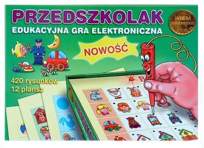 Przedszkolak, edukacyjna gra elektroniczna
