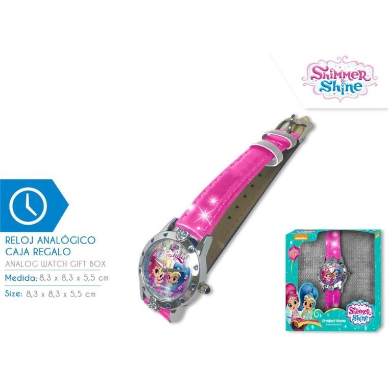 Shimmer i Shine, zegarek na rękę w pudełku prezentowym