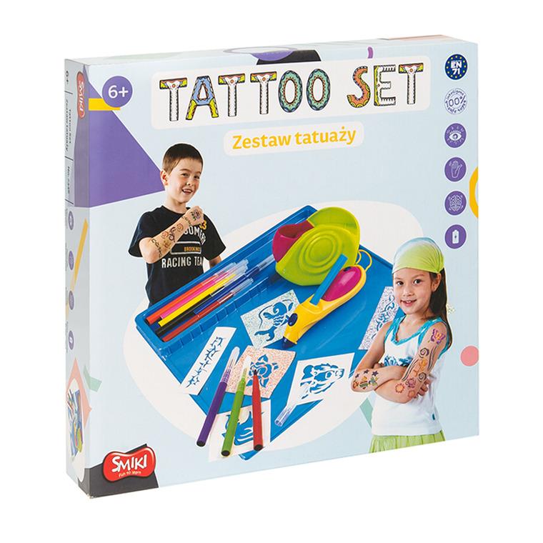 Smiki, zestaw do tworzenia tatuaży