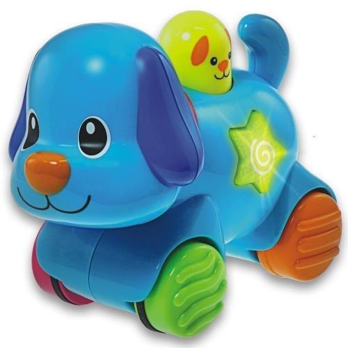 Smily Play, Zwierzaki naciśnij i jedź, Piesek, zabawka interaktywna