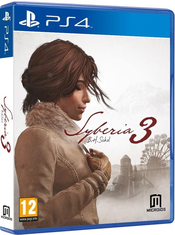 Syberia 3. Blu-Ray