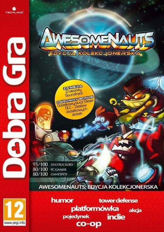 Techland, Awesomenauts Collector's Edition
