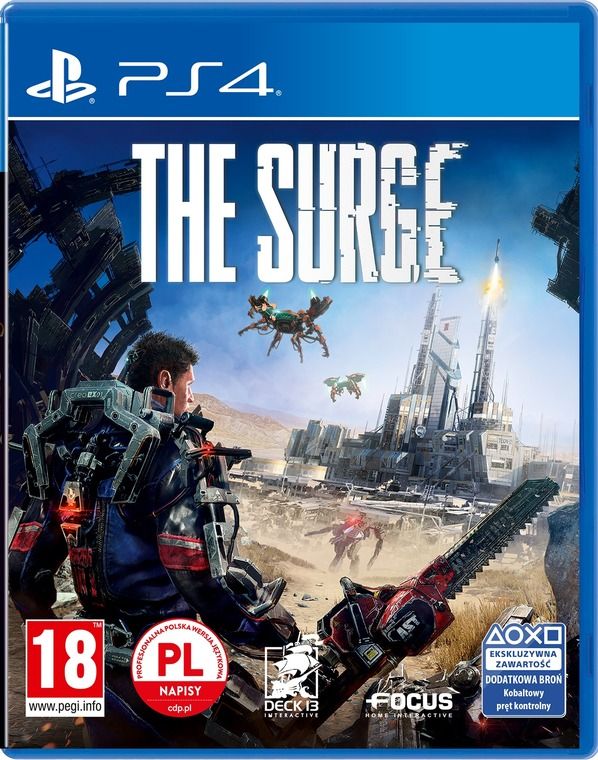 The Surge PS4. Blu-Ray
