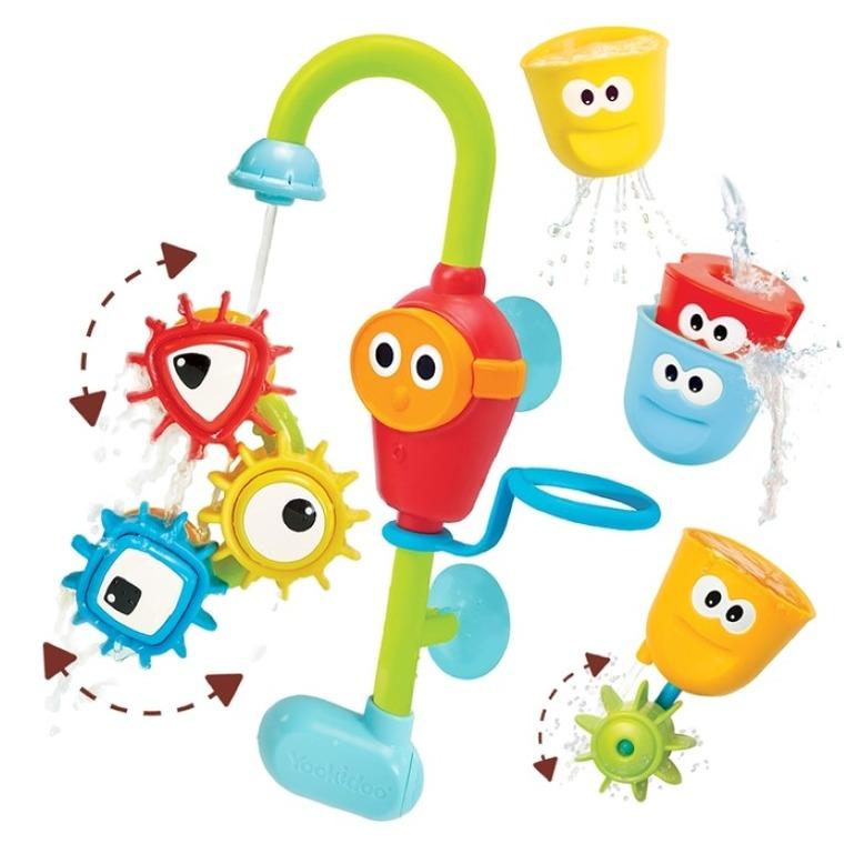 Yookidoo, Wesoły kranik i wirujące trybiki, zabawka do kąpieli