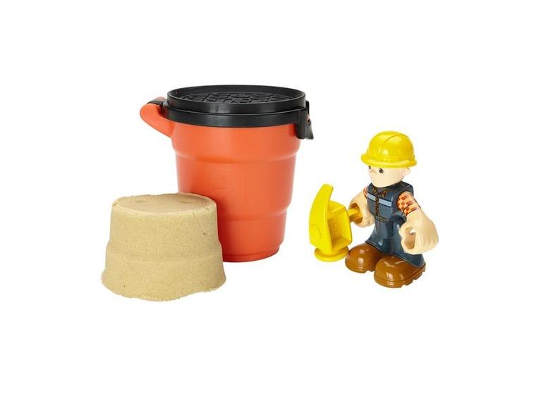Bob Budowniczy, Mash i Mold, figurka z pomarańczowym piaskiem kinetycznym