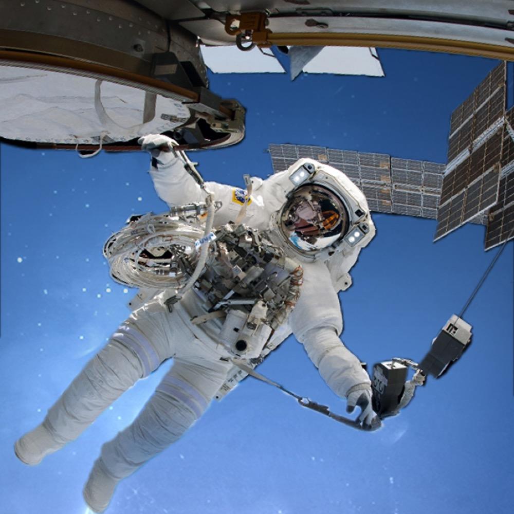 Zestaw inspirowany pracą NASA
