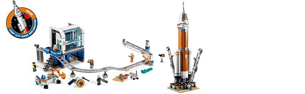 Pełen akcji zestaw z rakietą