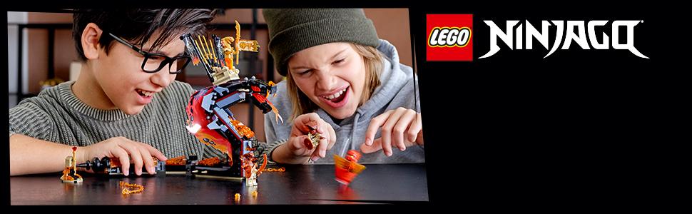 Wężowa zabawka dla fanów LEGO® NINJAGO®