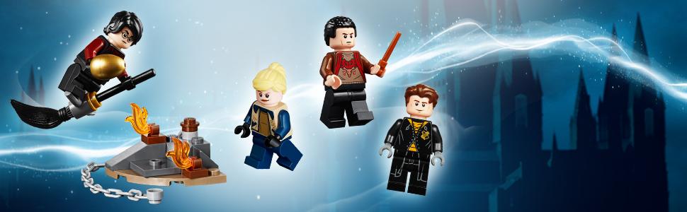 W zestawie cztery minifigurki
