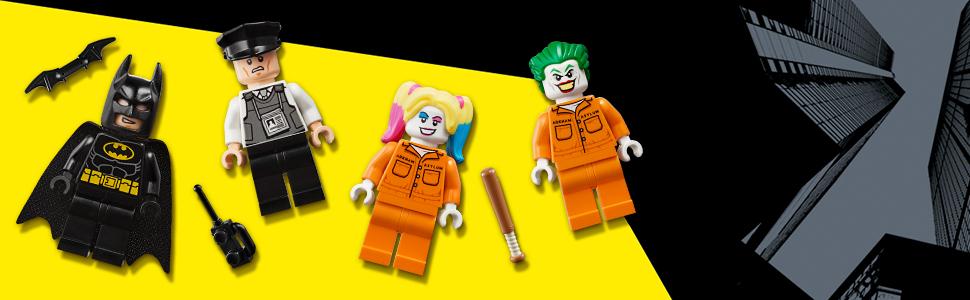 W zestawie cztery minifigurki LEGO®