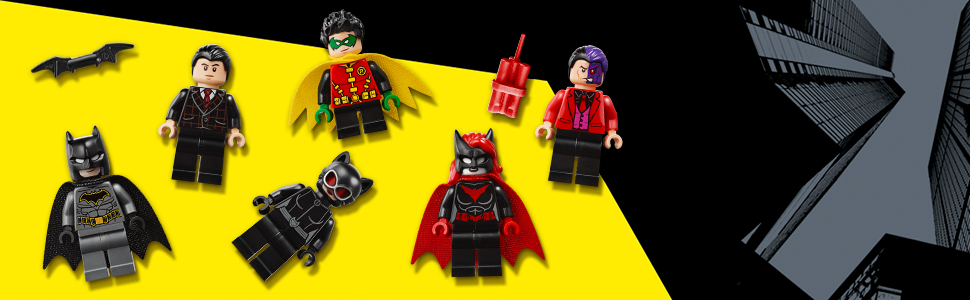 W zestawie sześć minifigurek LEGO®
