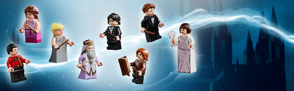 W zestawie osiem minifigurek