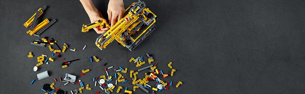 Satysfakcjonująca zabawa w budowanie
