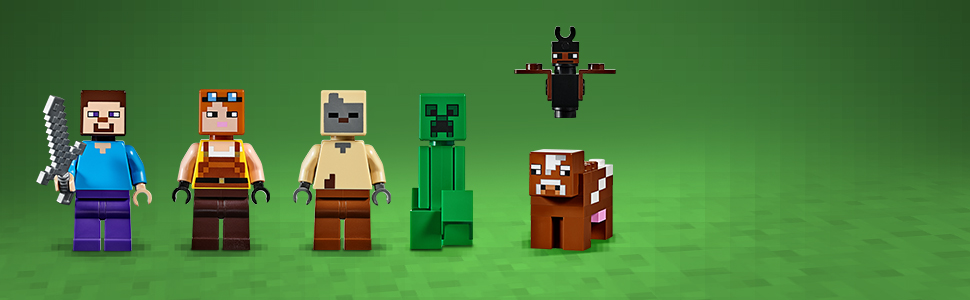 Kultowe postacie z Minecrafta™