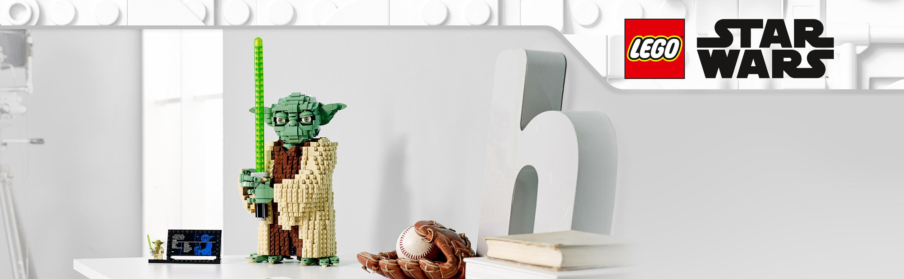 Yoda z klocków LEGO®