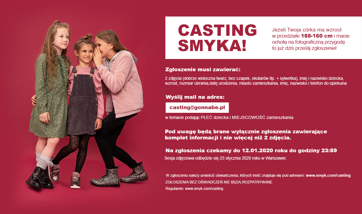 casting smyka