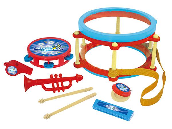 Informacja o produkcie SMIKI Drum & Rythm Set