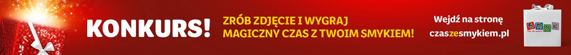 Konkurs - Wejdź na stronę czaszesmykiem.pl