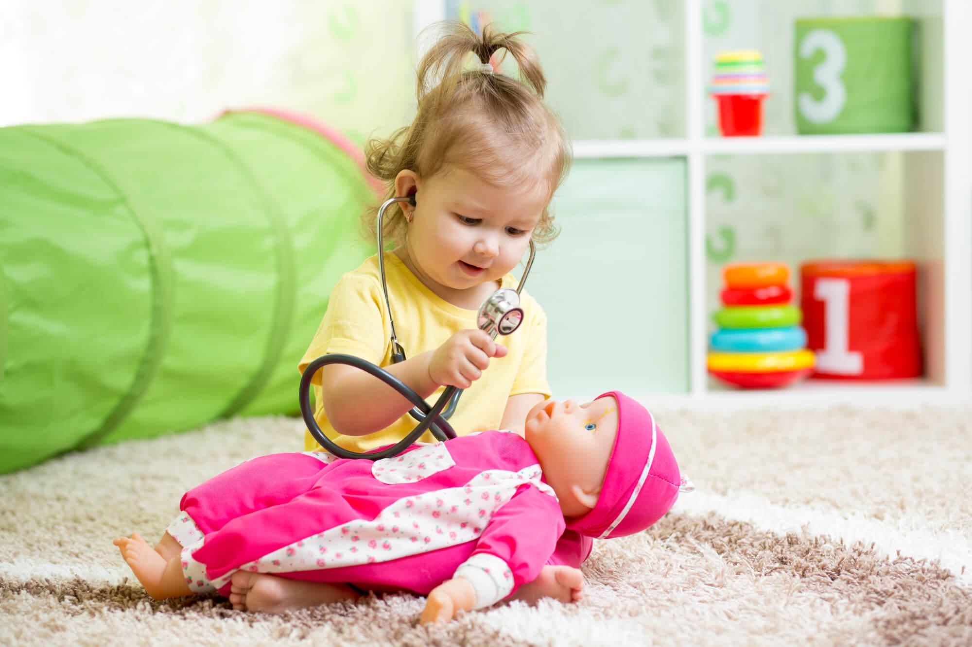 Lalka dla dwulatki