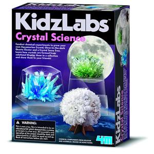 4M, Hodowla kryształów, 3 kolory, zestaw naukowy
