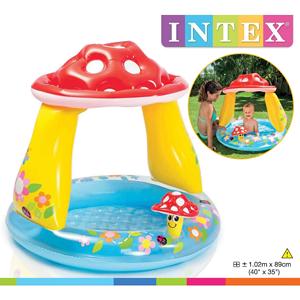 Intex, Basen dziecięcy, Muchomorek, 102x89 cm
